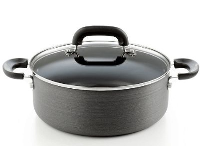 Macy's : Hard Anodized Nonstick 5 Qt. Covered Chili Pot Just $9.99 (Reg : $49.99)